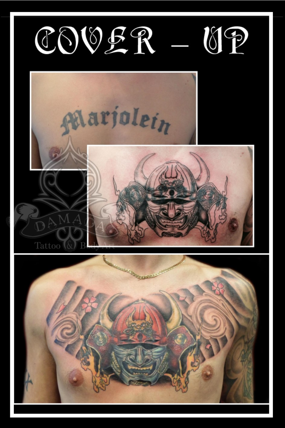 Cover Up borst