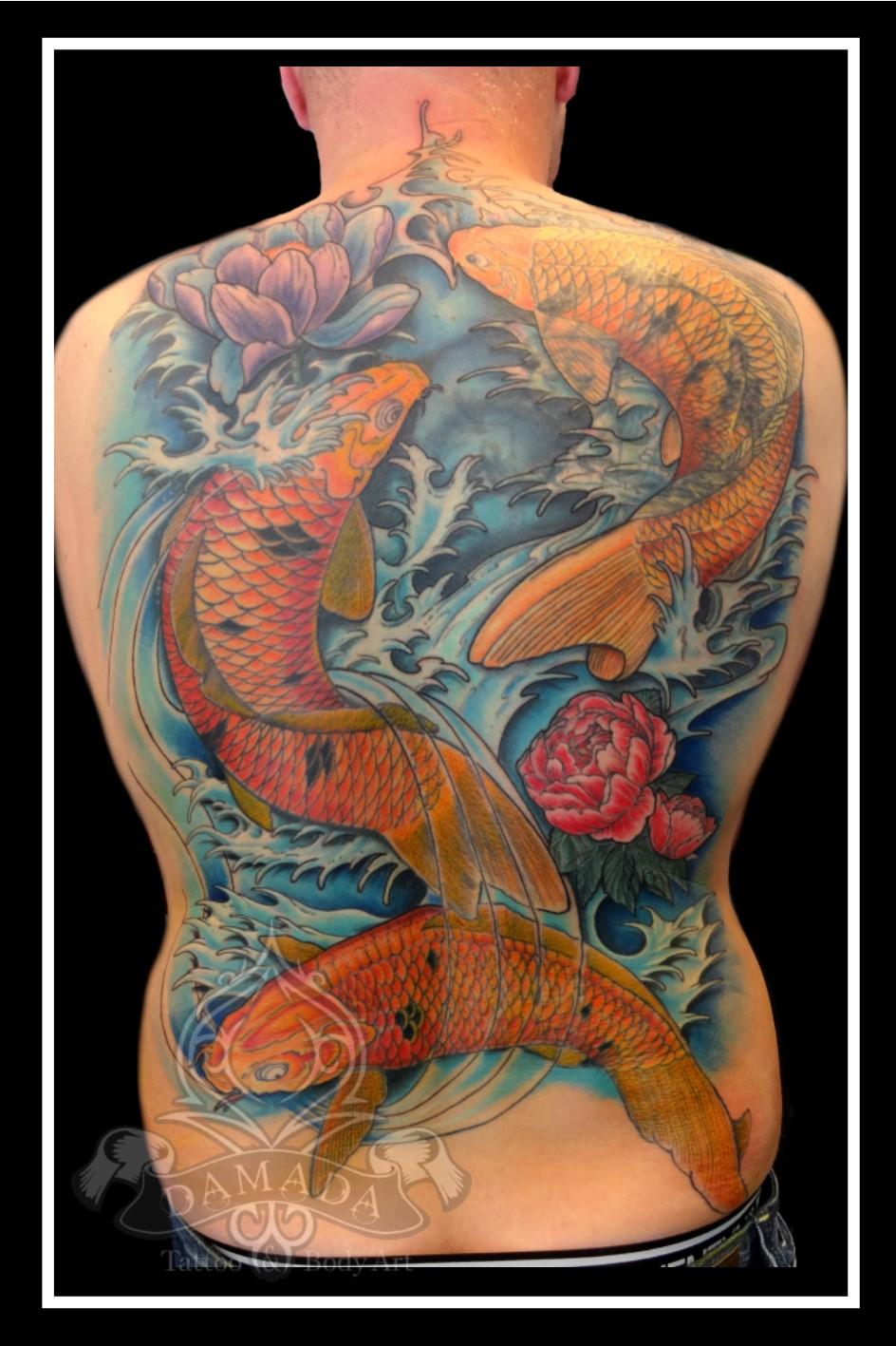 Oriental backpiece