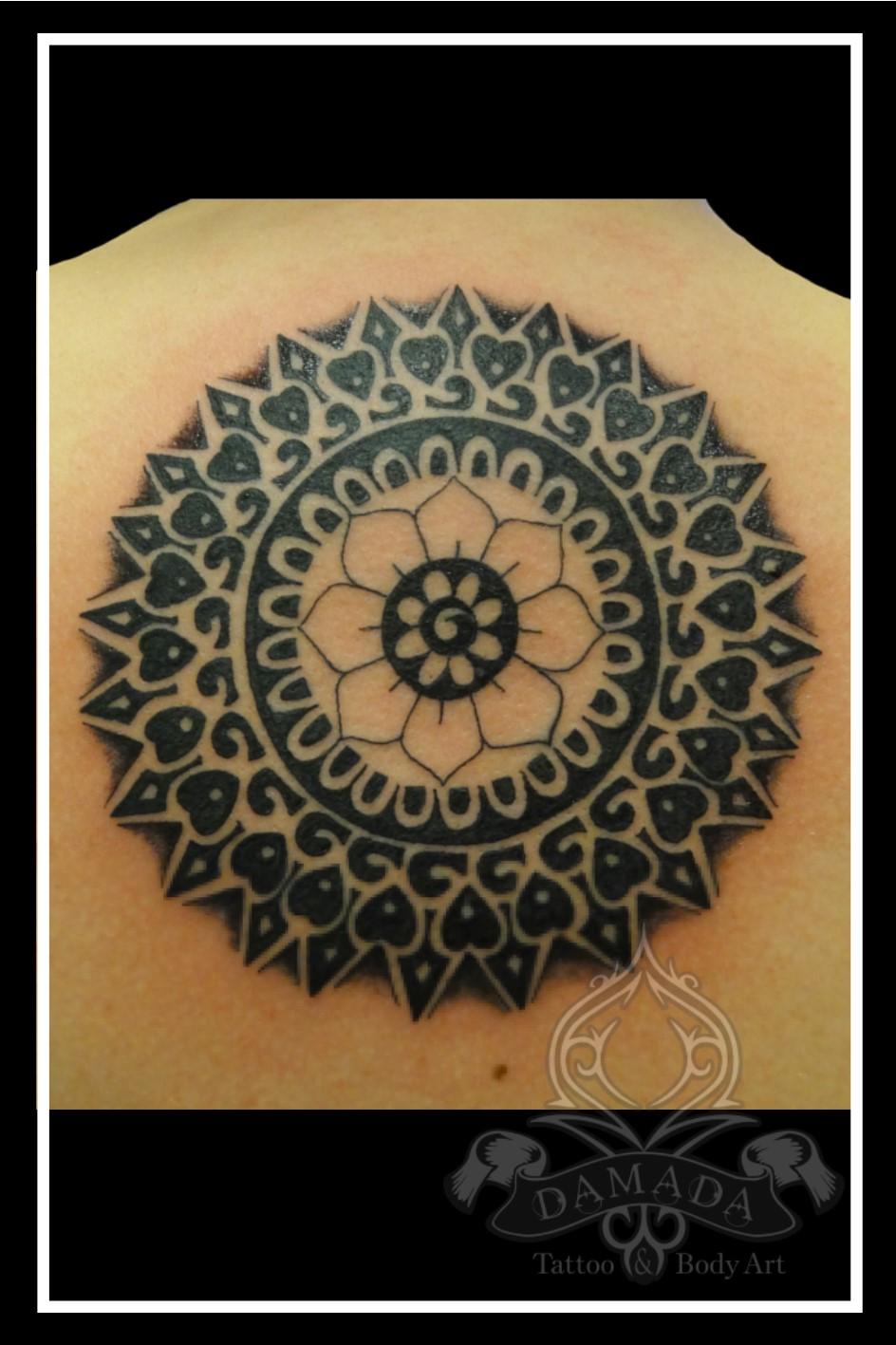 Mandala back