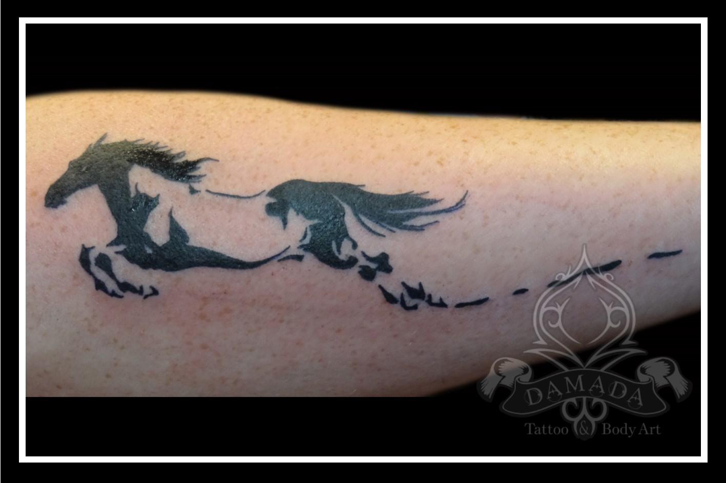 Portfolio Black Tattoos Damada Tattoo Body Art
