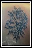 Roses dotwork