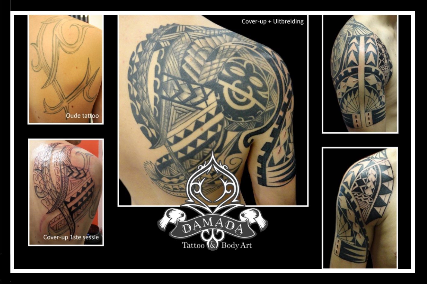 Cover Up polynesian style custom