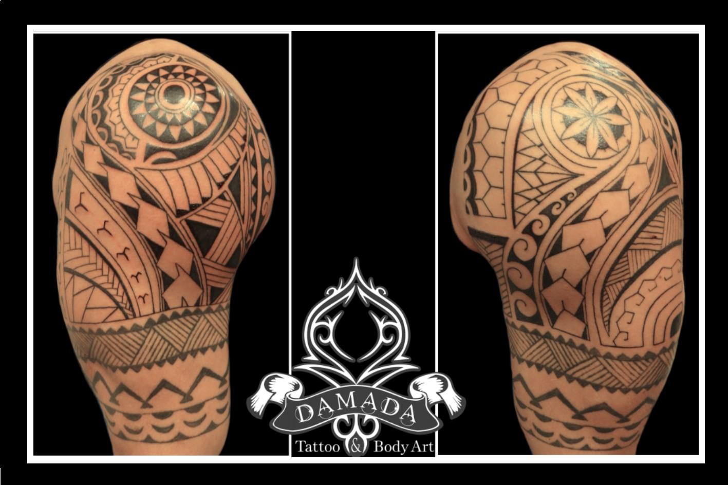 Polynesian half sleeves