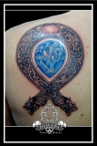 Celtic with blue stone