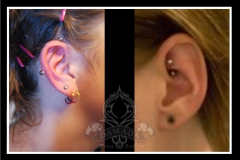 Industrial Rookpiercing
