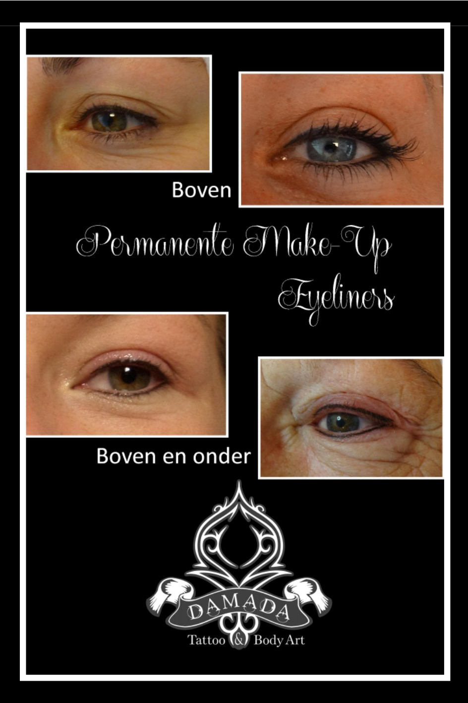 Eyeliners permanente make up