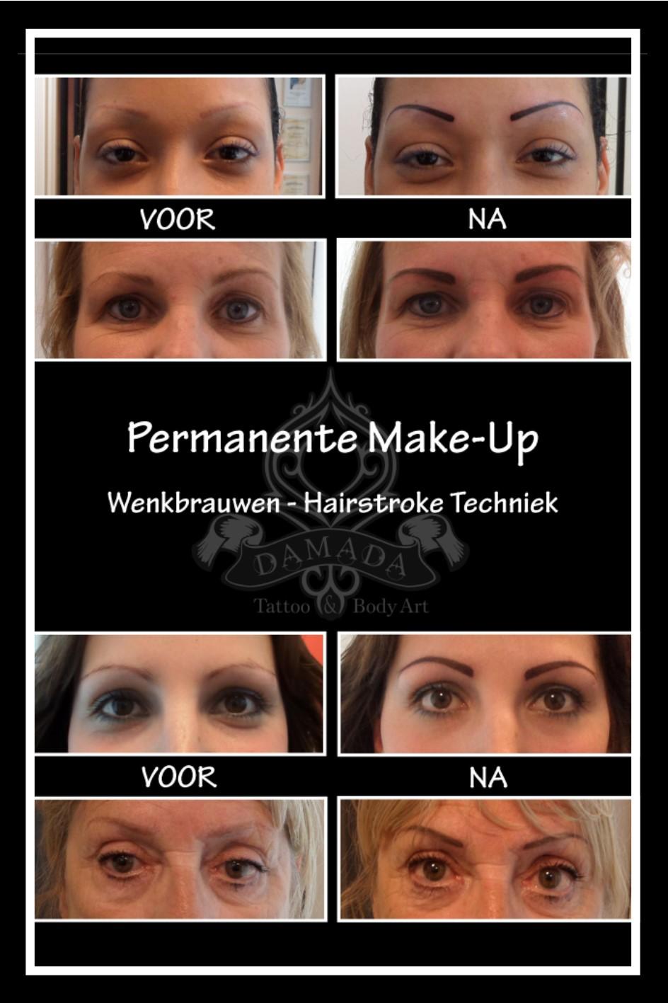 Eyebrow hairstroke