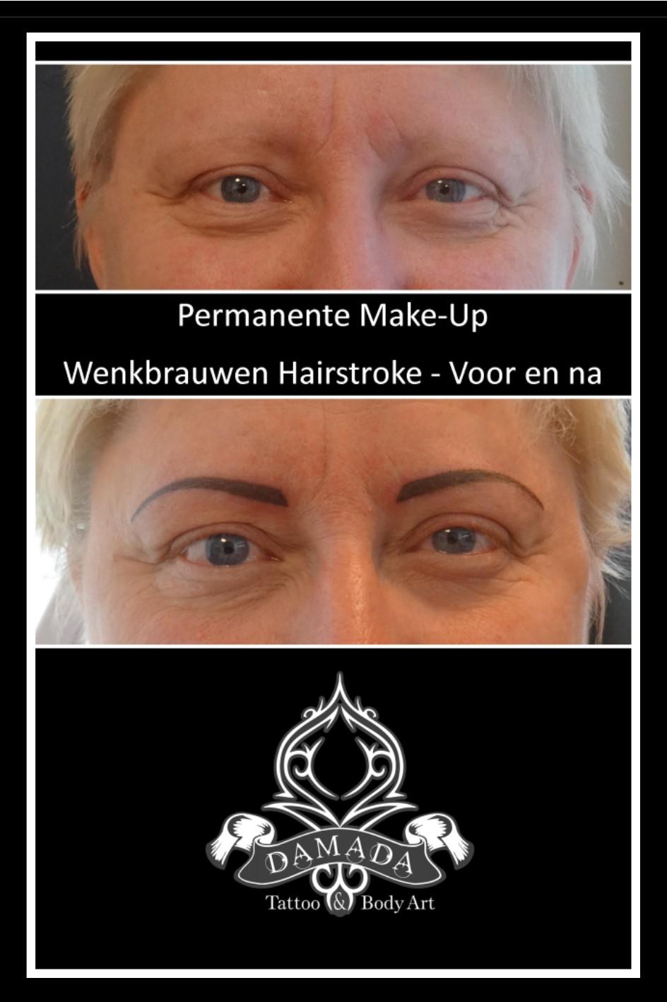 Eyebrows hairstroke