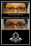 Eyebrows PMU before after