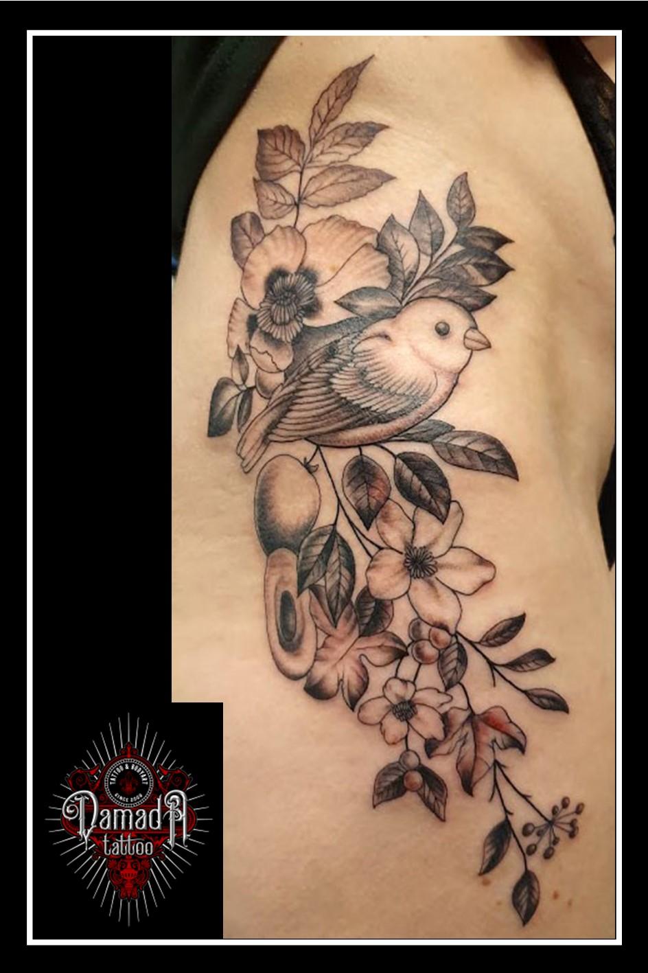Fine-Line-Flowers-and-Bird