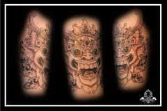 Oriental face