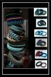Paracord-Armbanden-Blue