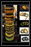 Paracord-Armbanden-Yellow