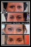 Wenkbrauwen hairstroke